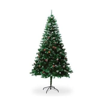Brad artificial de Crăciun, cu conuri, înălțime 1,8 m bonami.ro