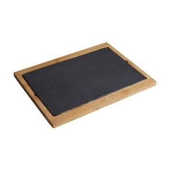Platou servire Premier Housewares Aca Slate, 34 x 25 cm poza bonami.ro