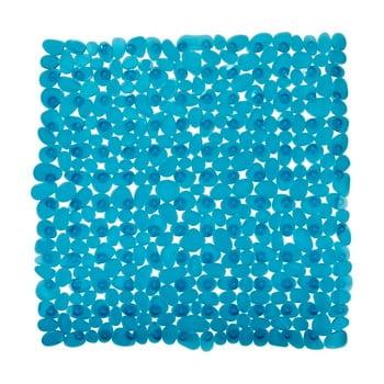 Covor baie anti-alunecare Wenko Drop, 54x54cm, albastru petrol bonami.ro