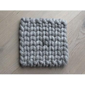 Suport țesut din lână pentru pahar/veselă Wooldot Braider Coaster, 20 x 20 cm, maro nisip bonami.ro