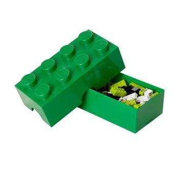 Cutie pentru prânz LEGO®, verde închis poza bonami.ro