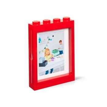Ramă foto LEGO®, 19,3 x 4,7 cm, roșu poza bonami.ro