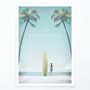 Poster Travelposter California, A2 bonami.ro