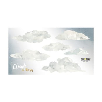 Set autocolante de perete Dekornik Clouds poza bonami.ro