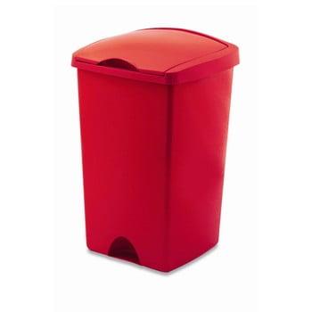 Coș de gunoi cu capac Addis Lift, 50 l, roșu bonami.ro