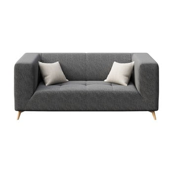 Canapea cu 2 locuri MESONICA Toro, gri închis