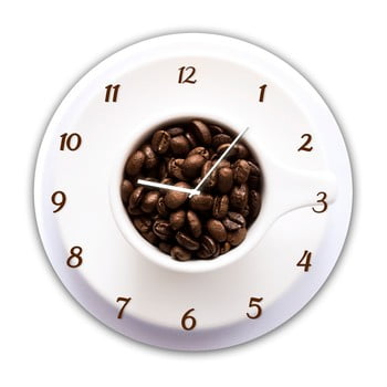 Ceas de perete Styler Glassclock Cup, ⌀ 30 cm poza bonami.ro