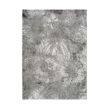 Covor Universal Norah Abstract, 160 x 230 cm, gri imagine