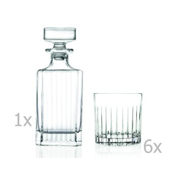 Set carafă și 6 pahare RCR Cristalleria Italiana Giustina poza bonami.ro