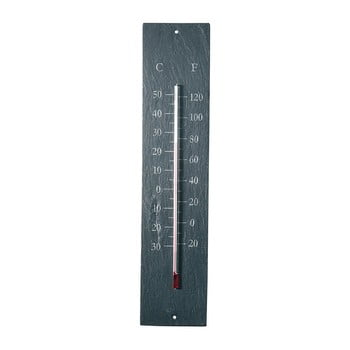 Termometru pentru exterior, din ardezie Ego Dekor Plain, 45 x 10 cm bonami.ro