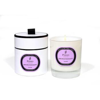 Lumânare parfumată Parks Candles London Aromatherapy, aromă de lavandă, durată ardere 45 ore bonami.ro