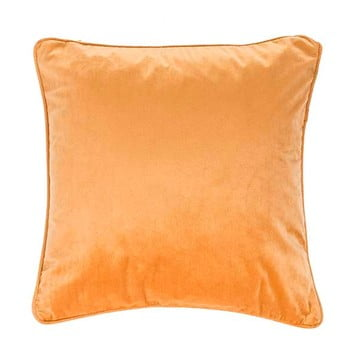 Pernă Tiseco Home Studio Velvety, 45x45cm, portocaliu - bej poza bonami.ro