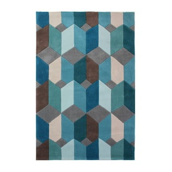 Covor Flair Rugs Scope, 160 x 230 cm, albastru imagine