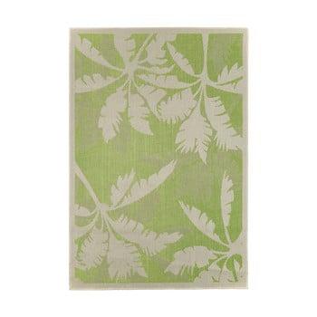 Covor adecvat pentru exterior Floorita Palms Green, 135 x 190 cm, verde - bej bonami.ro