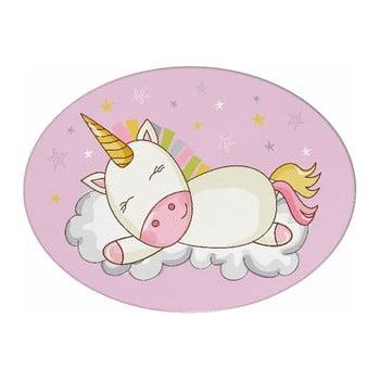 Pernă din amestec de bumbac pentru copii Mike&Co.NEWYORK Pillow Toy Unicorn, 35 x 24 cm bonami.ro