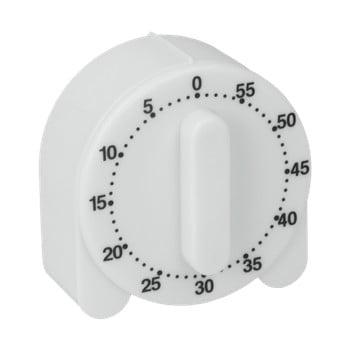 Cronometru de bucătărie Metaltex Time, alb poza bonami.ro