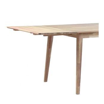 Extensie din lemn de stejar pentru masă extensibilă Rowico Mimi poza bonami.ro