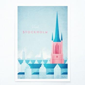 Poster Travelposter Stockholm, A2 bonami.ro