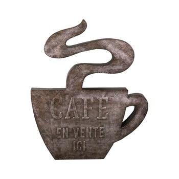 Decorațiune metalică de perete Antic Line Cafe,49x58,5cm bonami.ro
