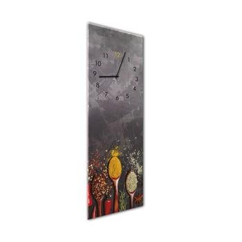 Ceas de perete Styler Glassclock Spoons, 20 x 60 cm bonami.ro