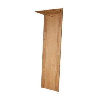 Cuier în decor de lemn de stejar Actona Riva