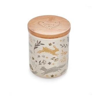 Recipient ceramică pentru zahăr Cooksmart ® Woodland poza bonami.ro