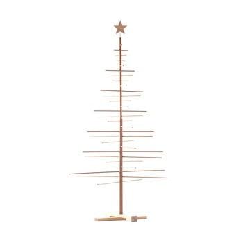 Brad din lemn pentru Crăciun Nature Home Xmas Decorative Tree, înălțime 190 cm