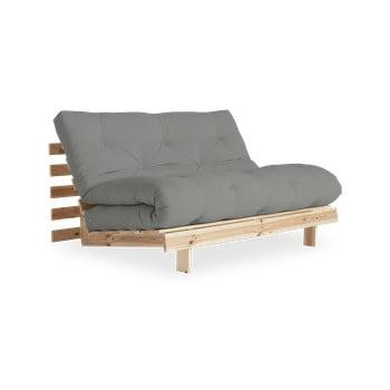 Canapea extensibilă Karup Design Roots Raw/Grey bonami.ro
