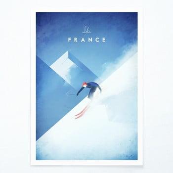 Poster Travelposter Ski France, A2 bonami.ro