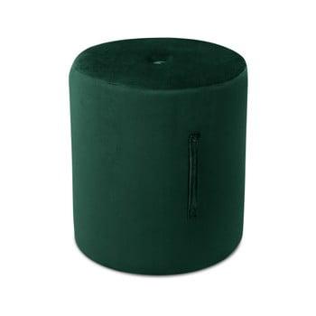Puf Mazzini Sofas Fiore, ⌀ 40 cm, verde poza bonami.ro