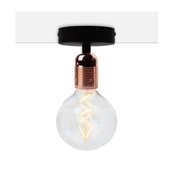 Plafonieră Bulb Attack Uno Basic, negru - arămiu poza bonami.ro