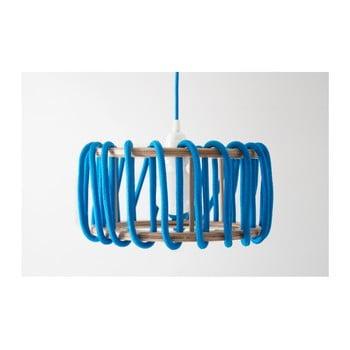 Lustră EMKO Macaron, ø 30 cm, albastru imagine