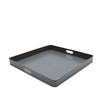 Tavă metalică pentru servit LABEL51, 60x60cm, gri bonami.ro