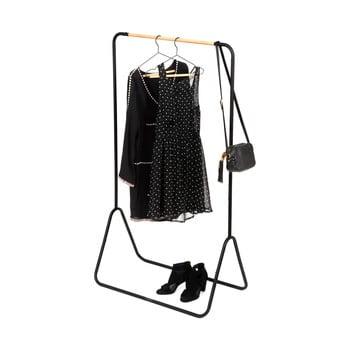 Suport pentru haine Compactor Elias Clother Hanger, înălțime 145 cm, negru poza bonami.ro
