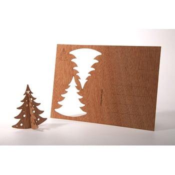 Carte poștală din lemn Formes Berlin Jedlička, 14,8 x 10,5 cm bonami.ro