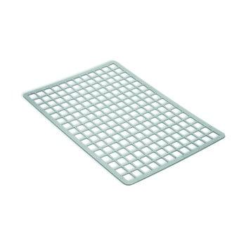 Protecție dreptunghiulară pentru chiuvetă, din plastic Addis, 36,5 x 24,5 cm, gri bonami.ro