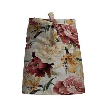 Șorț de bucătărie Linen Couture Delantal Spring Flowers bonami.ro