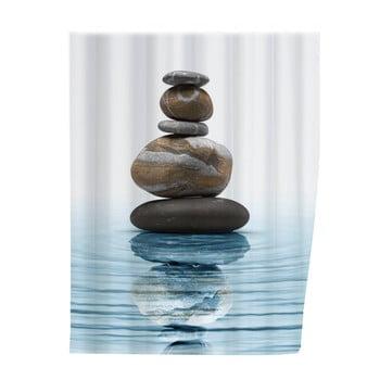 Perdea duș Wenko Balance, 180 x 200 cm poza bonami.ro