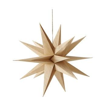 Decorațiune suspendată pentru Crăciun Boltze Kassia, lungime 40 cm, maro poza bonami.ro