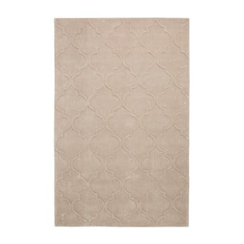 Covor țesut manual Think Rugs Hong Kong Puro Beige, 150 x 230 cm, bej imagine