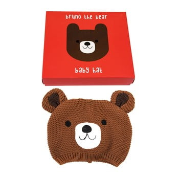 Căciulă din 100% bumbac pentru copii cu model cu urs Rex London bonami.ro