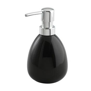 Dozator săpun Wenko Polaris, negru poza bonami.ro