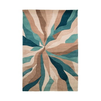 Covor Flair Rugs Splinter, 120 x 170 cm, albastru imagine