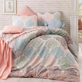 Lenjerie de pat cu cearșaf pentru pat dublu Andalucia, 200x220cm bonami.ro