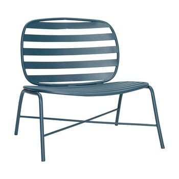 Scaun din fier Hübsch Lounge Chair, verde imagine