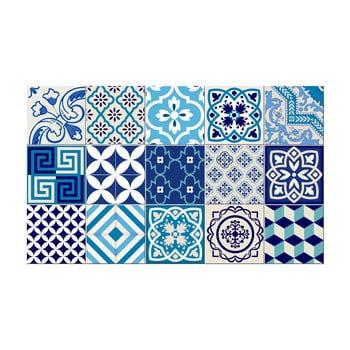 Set 15 autocolante de perete Ambiance Azur, 10 x 10 cm poza bonami.ro
