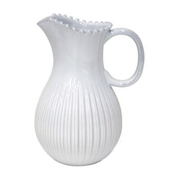 Carafă din gresie ceramică Costa Nova, 2,58 l, alb bonami.ro