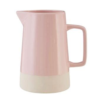Carafă din gresie ceramică Premier Housewares, 1,28 l, roz bonami.ro