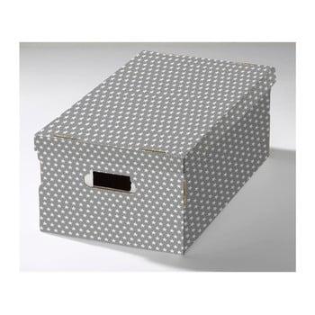Cutie depozitare din carton ondulat Compactor Mia, 52x29x20cm bonami.ro
