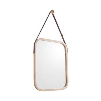 Oglindă de perete cu ramă din bambus PT LIVING Idylic, lungime 40,5 cm bonami.ro